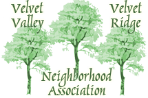 Velvet Valley/Velvet Ridge Neighborhood Association Logo